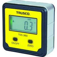トラスコ中山(TRUSCO) デジタル水平傾斜計 デジキュービック TDC-360 1個 761-6180 (直送品)