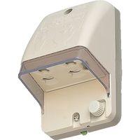 パナソニック(Panasonic) Panasonic フル接地防水コンセント WK4102KP 1個 763-2169 (直送品)