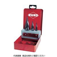 RUKO(ルコ) RUKO 2枚刃スパイラルステップドリル 37mm チタンアルミニウム 101060F 1本 765-9911(直送品)