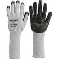 トラスコ中山(TRUSCO) グラスファイバー手袋ニトリル手のひらコートロング L TGL-5295ZL-L 1双 770-0903 (直送品)