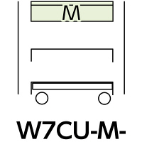 スペシャルワゴン750x500移動式 W7CU-M-IV (直送品)