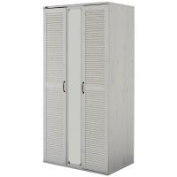 佐藤産業 GINAワードローブ 幅900mm×高さ1850mm ホワイト GI185-90WH 1台 (直送品)