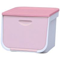 アイリスオーヤマ フラップボックス ピンク FLP-M 5台 (直送品)