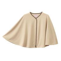フォーク 検診衣(ガウン型) 7010SK ベージュ フリーサイズ 患者衣 検査衣 1枚 (直送品)