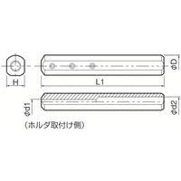 京セラ(KYOCERA) 京セラ 内径加工用ホルダ SH0416-100 1本 142-7491(直送品)