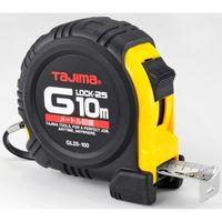 タジマ コンベックス Gロック-25 10m 25mm幅 メートル目盛 GL25100BL メジャー (直送品)