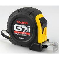 タジマ コンベックス Gロック-25 7.5m 25mm幅 メートル目盛 GL25-75BL メジャー (直送品)