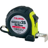 タジマ コンベックス Gスパコン25 5.5m 25mm幅 メートル目盛 GSP2555BL メジャー (直送品)