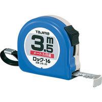 タジマ コンベックス ロック-16 3.5m 16mm幅 メートル目盛 L16-35BL メジャー (直送品)