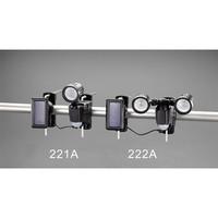 エスコ(esco) 1灯防雨型LEDセンサーライト(ソーラー式) 1台 EA864CB-221A (直送品)