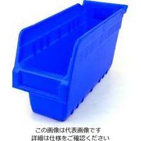 エスコ(esco) 105x300x150mm パーツトレー/ラック棚用(青/16個) 1箱(16個) EA661DB-8(直送品)