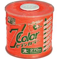 たくみ 7COLOR 太 オレンジ 270M 4807 1個 751-5341(直送品)
