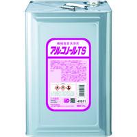 サラヤ(SARAYA) サラヤ 機械器具洗浄剤 アルコノールTS 16L 41571 1缶(16000mL) 753-7069 (直送品)