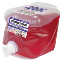 サラヤ(SARAYA) 中性除菌洗浄剤10KG 31682 1個(20000g) 753-6984 (直送品)