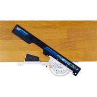 シンワ測定 丸ノコガイド定規フリーアングルNeo37cm 73166 1本 756-9009 (直送品)