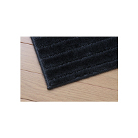 Sラグカーペット ブラック SPRG-1818 1枚 アイリスオーヤマ (直送品)