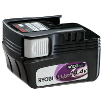 リョービ 14.4Vリチウムイオン電池パック 4000mAh B-1440L (直送品)