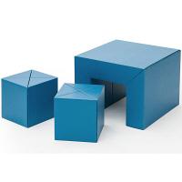 METROCS(メトロクス) カートンファニチャー リキ キッズセット ブルー MF12-KIDS-BL 1セット (直送品)