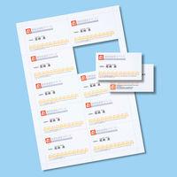 サンワサプライ マルチタイプ名刺カード・特厚 JP-MCM08N 1セット(3冊入) (直送品)
