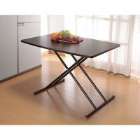 木製昇降フリーテーブル