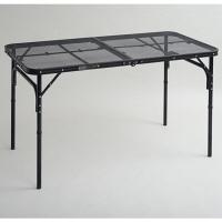 CampersCollection(キャンパーズコレクション) タフライトテーブル 幅1200×奥行600mm ブラックTLT-1260(MBK)1台(直送品)