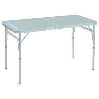 <LOHACO> CampersCollection(キャンパーズコレクション) フォールディングテーブル 幅1200×奥行600mm シルバー YAT-1260 1台(直送品)