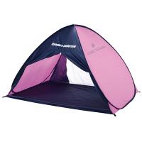 CampersCollection(キャンパーズコレクション) クールトップワンタッチサンシェード 3人用 ネイビー/ピンク 1個 (直送品)