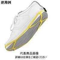 DESCO 静電気対策靴用ストラップ、靴底全体mサイズ 17271 1セット(10個入)  (直送品)