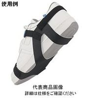 DESCO 静電気対策靴用ストラップ、靴底全体プレミアム、2MEG抵抗付き、Sサイズ 17290 1セット(10個入)  (直送品)