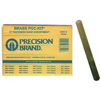 プレシジョンブランド 真鍮シクネスゲージポケットキット127mmブレードx 20本 PB127BTG76740 1セット(20個入)  (直送品)
