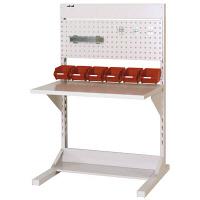 ラインテーブル W900サイズ片面単体 作業台 HRK-0913-PY 山金工業 (直送品)