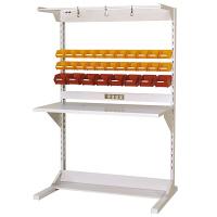 ラインテーブル W1200サイズ片面単体 作業台 HRK-1218-FYC 山金工業 (直送品)