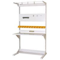 ラインテーブル W1200サイズ片面単体 作業台 HRK-1221-FPYC 山金工業 (直送品)