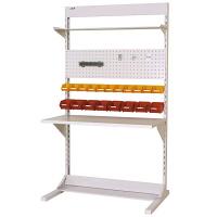 ラインテーブル W1200サイズ片面単体 作業台 HRK-1221-TPY 山金工業 (直送品)