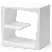 B-LINE(ビーライン) キュビー ホワイト IB01-Y01-WH 1台 (直送品)