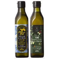 【ギフト】オリーブオイル・アマニ油詰合せ