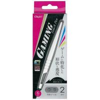 ナカバヤシ ゲーミングタッチペン/シルバー ECTP-12SL (直送品)