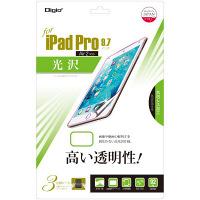 ナカバヤシ(Digio) iPad Pro 9.7インチ用保護フィルム(光沢タイプ) TBF-IP16FLK (直送品)