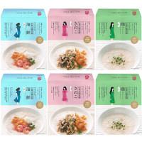 長崎 チャイデリカ マーマルイの広東式健美粥 3種詰め合わせ6食セット (海鮮、きのこ、鶏粥) (直送品)