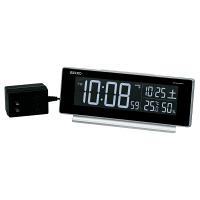 セイコークロック セイコーC3 [電波 置き時計] シルバー DL207S 1個 (直送品)