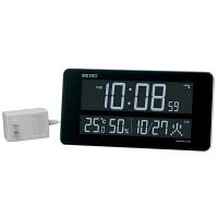 セイコークロック セイコーC3 [電波 掛け置き兼用時計] ホワイト DL208W 1個 (直送品)