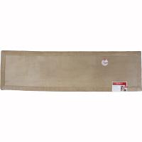 リブボーダー キッチンマット 50×180cm ディープリネン (直送品)