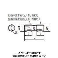 住友電工ハードメタル(SUMITOMO) 切削工具 部品 ネジ WB8-22TL 1セット(10個入)(直送品)