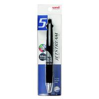 ジェットストリーム多機能ボールペン 4色(0.7mm)+シャープ(0.5mm) MSXE5-1000-07 ブラック 三菱鉛筆uni(直送品)