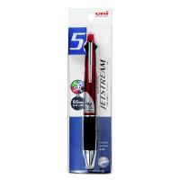 ジェットストリーム多機能ボールペン 4色(0.7mm)+シャープ(0.5mm) MSXE5-1000-07 ボルドー 三菱鉛筆uni(直送品)