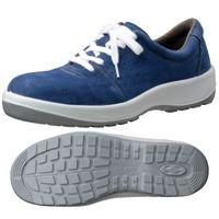 ミドリ安全 JIS規格 安全靴 スニーカータイプ MSN350 25.5cm ブルー 1足 1404027610(直送品)