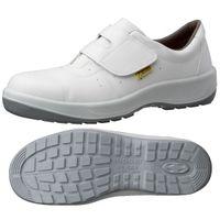 ミドリ安全 JIS規格 安全靴 スニーカータイプ MSN395 静電 23.5cm ホワイト 1足 1404093306(直送品)