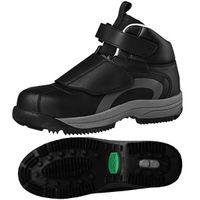 ミドリ安全 JSAA認定 冬用 防寒 作業靴 プロスニーカー MPS135 24.5cm ブラック 1足 2125051408(直送品)