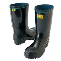 アイトス 安全ゴム長靴(K-2) ブラック 25.5cm AZ58600-010 1足(直送品)