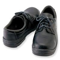 アイトス セーフティシューズ(ウレタン短靴ヒモ) ブラック 23.5cm AZ59811-010 1足(直送品)